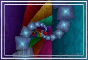 Fractal Cubism by rocamiadesign