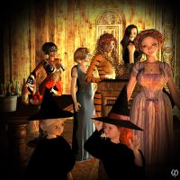 Halloween party 2015 by Chronophontes