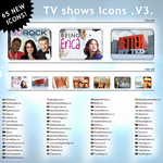 TV shows Icons .V3. by dubbb