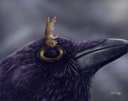 Into the Eye of Raven by Wolf-Daughter