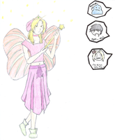 Ed as A Fairy Princess by SaviorofSymphonia