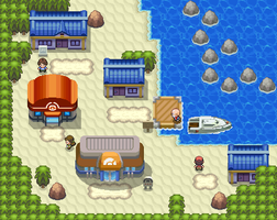 Dewford town remake by Pokemon-Diamond