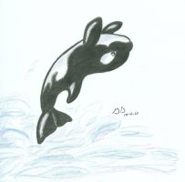 Chibi Orca by HavocWraith