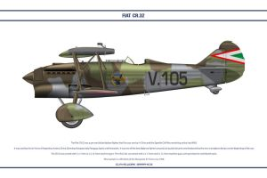 Fiat CR32 Hungary 2 by WS-Clave