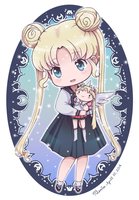 Chibi Sailor Stars Usagi by BemiTellove