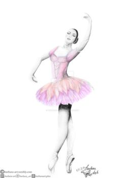 Ballerina II by barbara-art