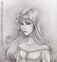 The Last Unicorn:Lady Amalthea by kimberly-castello