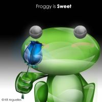 Froggy is Sweet by candyworx