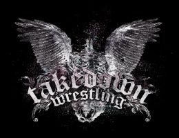 Takedown Wrestling T-Shirt by zigabooooo