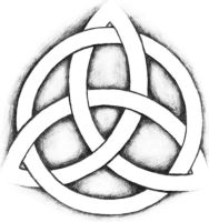 Celtic Triquetra by whitecrainstudio