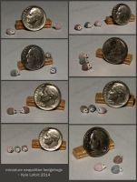 Quarter Inch Scale Miniature Neapolitan Hedgehogs by Kyle-Lefort