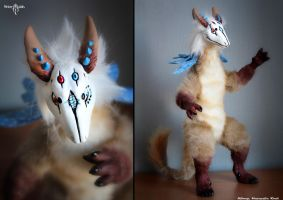 Domi beast by Flicker-Dolls