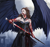 Vamp-Angel by entroz