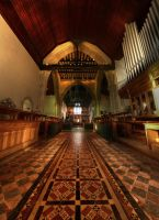 Alfriston Church Entrance by wreck-photography