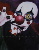 The clown - collab by Valetdepik