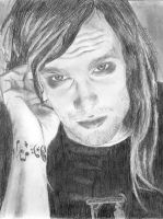 Bert McCracken by akashan