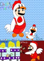 Mario: Chicken suit? by paratroopaCx