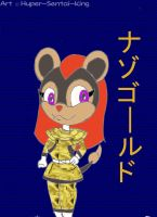 NazoGold - Afia the Litleo by Hyper-Sentai-King