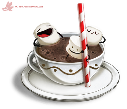 Daily Paint #978. Coco Bath (OG) by Cryptid-Creations