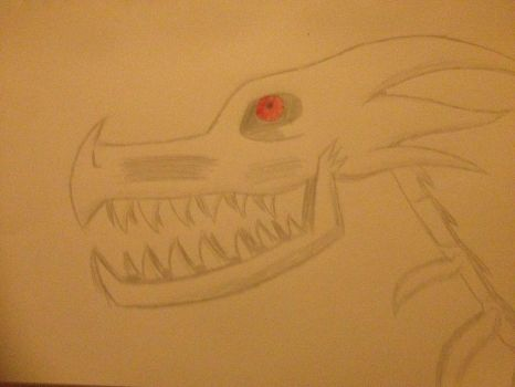 Horrortale - Sans Dragon (unfinished) by TheLOLChicken