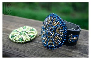 Beaded jewelry by Paivatar
