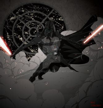 Darth vader!! by opgezwolle