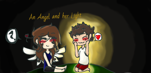 An Angel and Her Light by Greenland-Angelica-J
