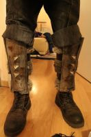 Iron Boots Skyrim by kethien