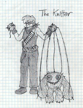 The Knitter by catholic-deviant