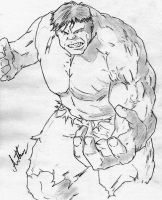 The Incredible HULK by arthurfernandes