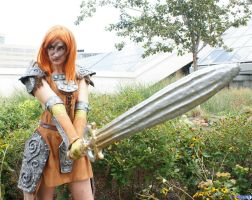 Aela the Huntress by Haganegirl