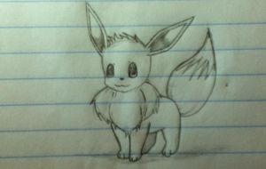 My little eevee by Lil-9