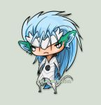 Chibi Grimmjow Commission by zelas
