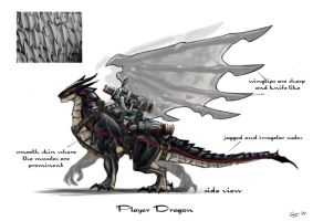 Dragon Commander: Concept Art 02 by orogion