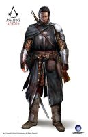 ACC Rogue Shay Templar Armor 14th Cen by satanasov