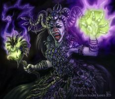 Wrathborn Witch for Talisman by feliciacano