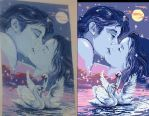 The kiss - tapestry by elanor-V