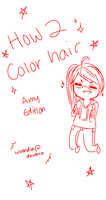 Coloring Hair Tutorial by Winhdia