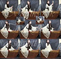 The layde of shalott set 2 by magikstock