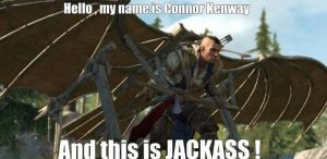 My Name Is Connor Kenway by The--Mad--Russian