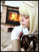 Shiemi-fire in my heart by SakuIta222