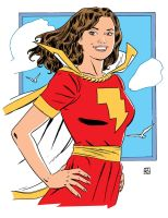 Mary Marvel by deankotz