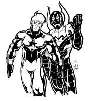 Booster and Nu Beetle by Thormeister
