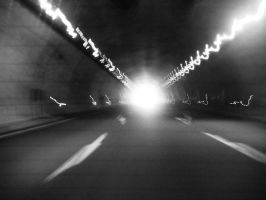I see the light at the end of the tunnel. by Heavensinyoureyes