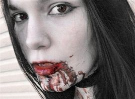 Love You To Death (special effects make-up test) by AgentNasrin