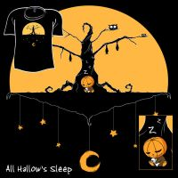 Woot Shirt - All Hallows Sleep by fablefire