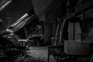 the attic by Bildbeute