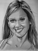 Jessica Alba by golfiscool