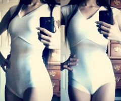 Senshi Super Leotard Progress 1 by Xelhestiel