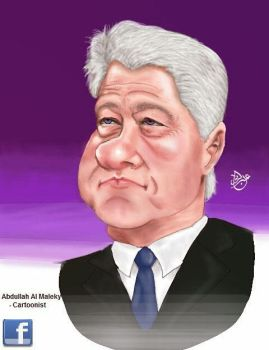 bill clinton by abbod